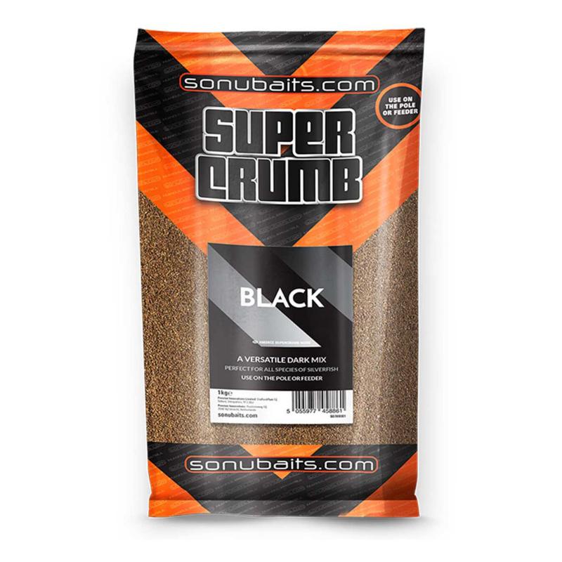 Sonubaits Supercrumb Black