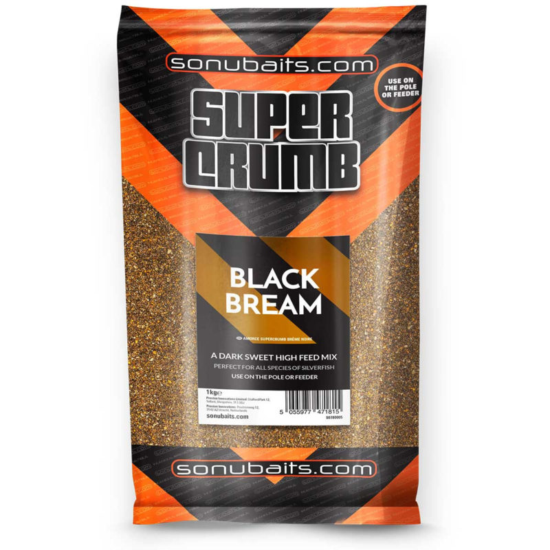 Sonubaits Supercrumb black bream