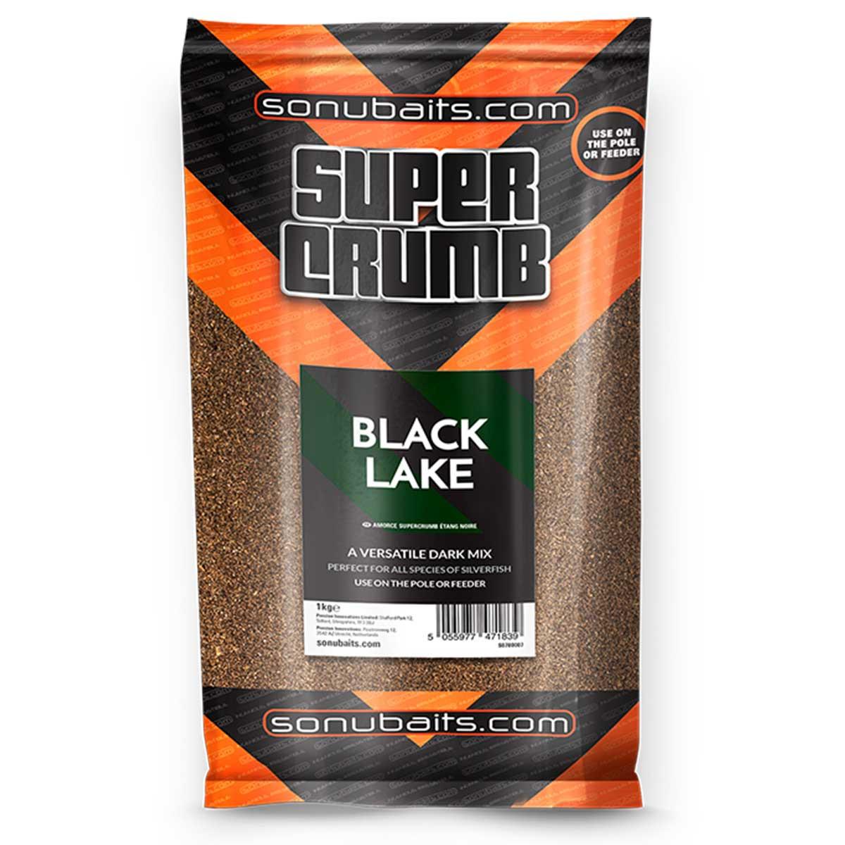 Sonubaits Supercrumb black lake