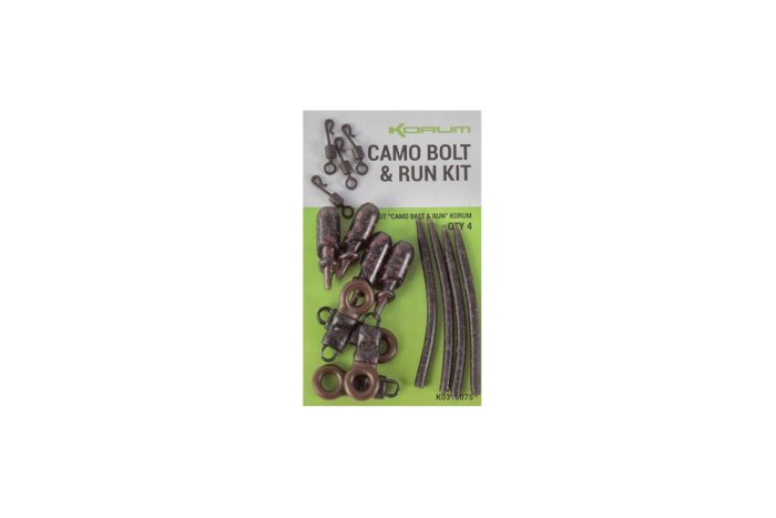 Korum Camo Bolt & Run Kit