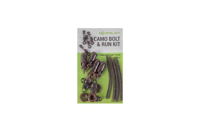 Korum Camo Bolt & Run Kit