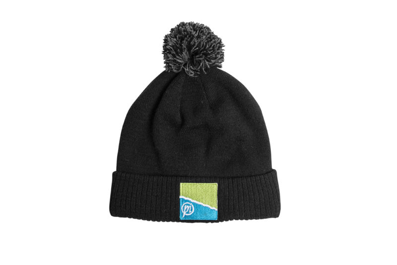 Preston Black/Grey Bobble Hat