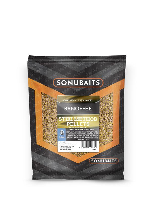 Sonubaits Banoffee Stiki Method Pellets 2mm