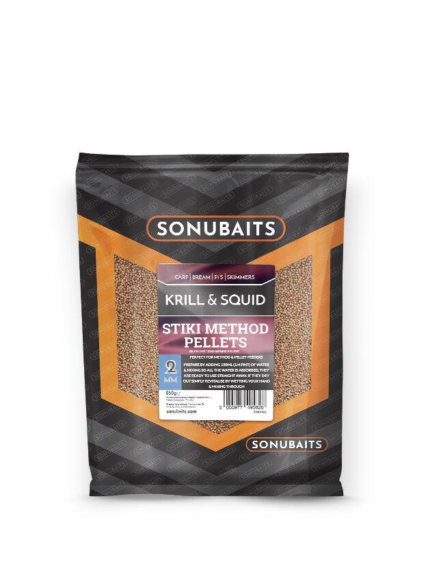 Sonubaits Stiki Method Pellets Krill & Squid - 2mm
