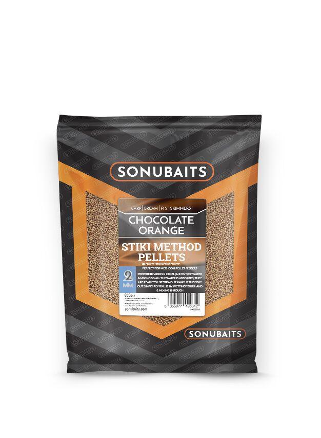 Sonubaits Stiki Method Pellets Chocolate Orange - 2mm