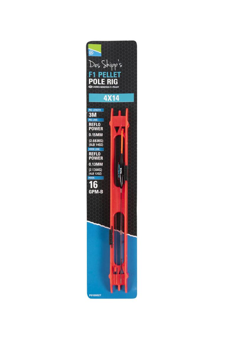 Des Shipp's Commercial Slims Pole Rigs F1 Pellet